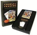 "Charles Fazzino Playing Card Set ""Manhattans, Martinis and Moonlight"""