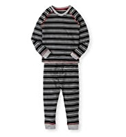 Autograph Striped Thermal Top & Pants Set