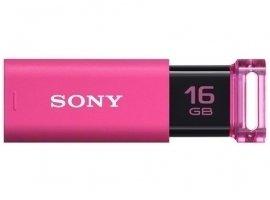 SONY(ソニー) USB3.0対応 スタイリッシュ&カラフルなデザインノックスライド USBフラッシュメモリー 16GB 海外パッケージ品 ピンク USM16GU/PC