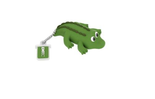 EMTEC Animal Series Jungle 4 GB USB 2.0 Flash Drive, Crocodile