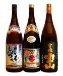 鹿児島芋焼酎 おすすめ3本(伊佐美・吉兆宝山・かいもしょちゅ) 飲み比べセット