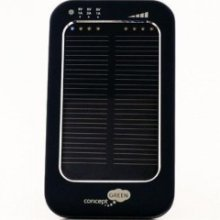 Concept Green Energy Solar Charger 3600 mAh Black
