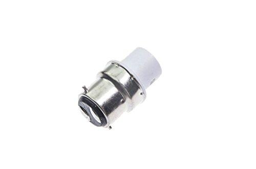 Shangge Ce&Rohs Certification 5 Pcs B22 To Ba15D Led Bulb Base Converter Halogen Cfl Light Lamp Adapter Socket Change Pbt