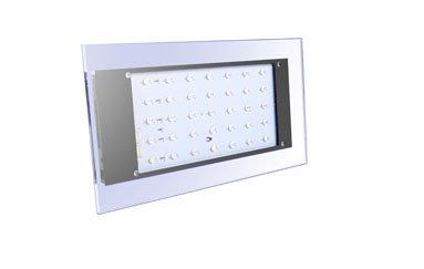 Lenofocus 80W Smart Led Aquarium Light Programmable Settings Remote Control Dimmable
