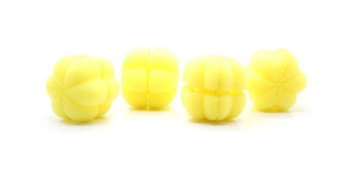 Cute Pumpkin Style Hair Curler Balls (6-Piece Pack) - (Premium Quality)