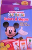 Disney Mickey Mouse Colors & Shapes Learning Game Flash Cards