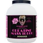 Healthy 'n Fit Creatine Mass 10000 5-pound Bottle Vanilla,