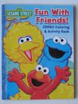 Sesame Street Jumbo Coloring & Activity