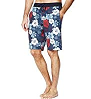 XXXL Blue Harbour Hibiscus Print Quick Dry Swim Shorts