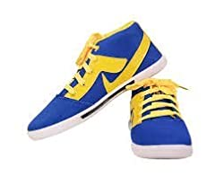 SCATCHITE Tick R.Blue /Yellow Casual Shoe