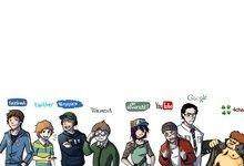 cartoons-facebook-internet-google-youtube-twitter-myspace-wikipedia-deviantart-meet-the-internet-mou