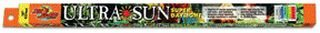 Zoo Med Ultra Sun Trichromatic Super Daylight 6500K Fluorescent Bulb T8 15 Watt, 18-Inch