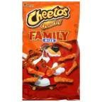 Cheetos Cheese Flavored Snack Crunchy, Family Size, 20.5oz (Pack of 3)