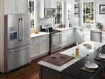Frigidaire Professional Stainless Steel Appliance Package with French Door Refrigerator #10