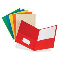 Twin Pocket Folders,w/o Fasteners, 11\