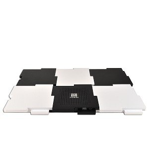 PT-CP01 6pcs Interlocking Notebook Cooling Pad - 1 Fan(s) - 2100rpm - Sleeve Bearing - ABS Plastic