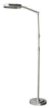 Superior Floor Lamp for Sewing & Scrapbooking - Nickel