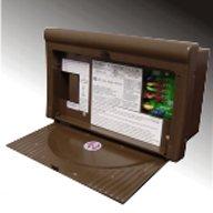 WFCO WF-8712-P Brown 12 Amp Power Center