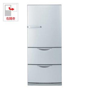 アクア 264L 3ドア冷蔵庫(ラグジュアリーシルバー)AQUA AQR-261B-S