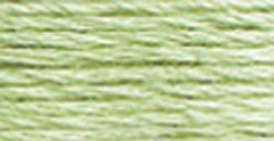 DMC Pearl Cotton Skeins Size 5 27.3 Yards Very Light Pistachio Green 115 5-369; 12 Items/Order