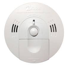 (Pack Of 2) Kidde KN-COSM-IB Hardwire Combination Carbon Monoxide and Smoke Alarm with Battery Backup and Voice Warning, Interconnectable