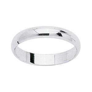 So Chic Jewels - 9k White Gold 3.5 mm Classic Wedding Band Ring