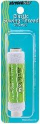 Elastic Sewing Thread 30 Yards-White
