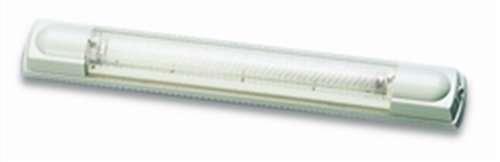 "Hella 007372002 '7372 Series' 17"" 12V/8W Transistorized Fluorescent Tube Light With White Housing"