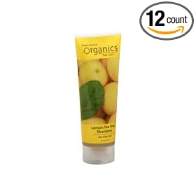 Lemon Tea Tree Shampoo For Oily Hair - 8 fl oz - Cream ( Multi-Pack)