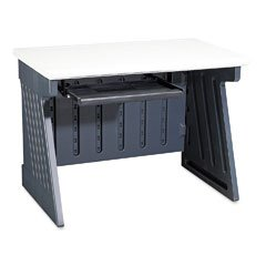 "Buy Low Price Comfortable Iceberg Rough ""n"" Ready SnapEase 42″ Computer Desk (B001CLM6IK)"