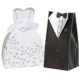 Bride and Groom Wedding Favor Boxes