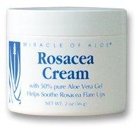 Miracle of Aloe Rosacea Cream (2 oz )