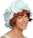 Fancy Dress Hats | Mop Cap White