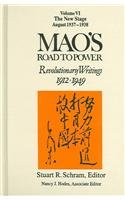 Mao's Road to Power: Revolutionary Writings, 1912-49: New Stage (August 1937-1938) v. 6 (East Gate Books)