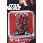 Star Wars Face Figure Clip (Darth Maul) Japan Import