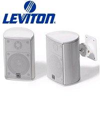 Leviton Aess5-Wh Expansion Satellite Speaker For Aeh50 Home Cinema Speaker System - White (Pkg Of 3)