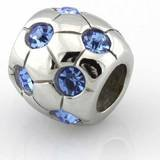HEIRLOOM Water Proof Blue Birthstone Bead fits Pandora by Island Imports And More