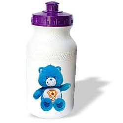 Care Bears - Blue Care Bear, Carebears - Water Bottles