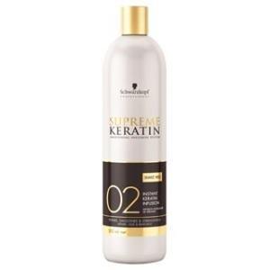 Schwarzkopf Supreme Keratin Immediate Infusion Number 2 Hair Repair 480 ml