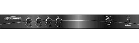 Microphone Mixer Preamplifier 4 Input X 1 Output With Headphones