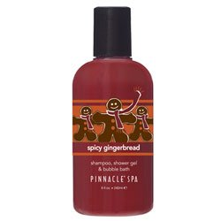 PINNACLE Spicy Gingerbread Shampoo, Shower Gel & Bubble Bath 8 oz. - Buy PINNACLE Spicy Gingerbread Shampoo, Shower Gel & Bubble Bath 8 oz. - Purchase PINNACLE Spicy Gingerbread Shampoo, Shower Gel & Bubble Bath 8 oz. (Health & Personal Care, Products, Personal Care, Bath & Shower, Cleansers, Shower Gels & Body Washes)