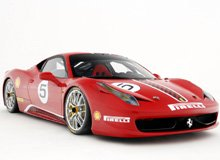 Ferrari 458 Challenge Die Cast Model - LegacyMotors Scale Model Cars