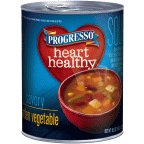 Progresso Reduced Sodium Soup, Garden Vegetable, 18.5-Ounce Cans (Pack of 12)