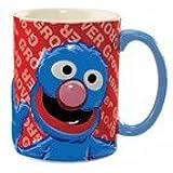 Sesame Street Grover 14 oz. Ceramic Mug - New