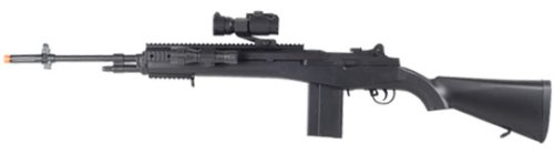 TSD Sports M100 Sniper Spring Airsoft Rifle Combo 