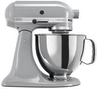 Kitchenaid Ksm150psmc Artisan Series 5-quart Mixer Metallic Chrome by KitchenAid
