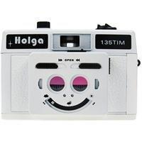 Holga 135 TIM 35mm 1/2 Frame Twin/Multi-Image Camera, White