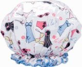 Spa Sister Bouffant Shower Cap, Lingerie Print.