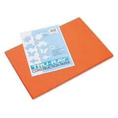 "Tru-Ray 12"" x 18"" Construction Paper - Orange - 1"