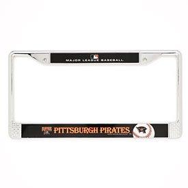 Pittsburgh Pirates Metal License Frame